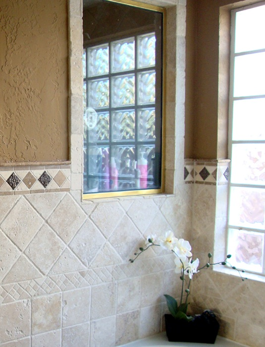 Framed Shower Window