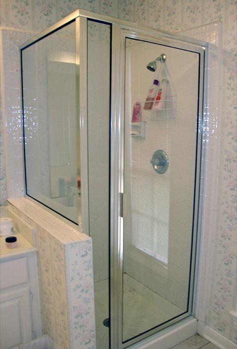 3 Pc Frame Shower Glass