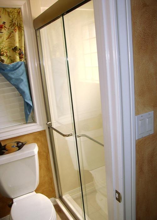 Framed Shower Door Slider